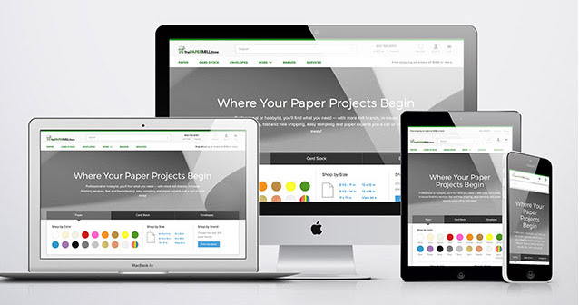 tpms new responsive website design