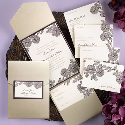 wedding invitation suite enclosures