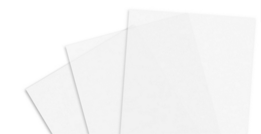 introducing folio sized onion skin paper