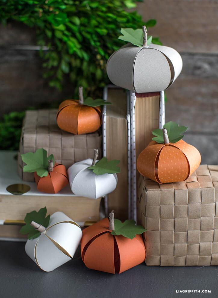 paper pumpkins lia griffith