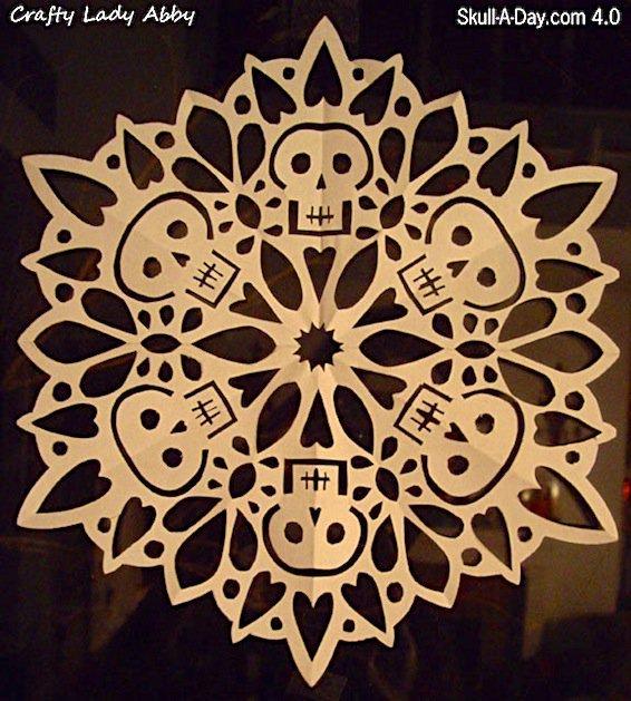 halloween snowflake makezine