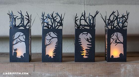 halloween paper lanterns lia griffith