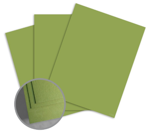 green card stock