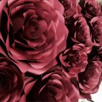 Showcase: Giant Paper Flower Wall by RockPaperBloom