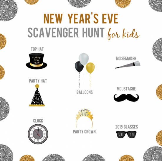 reasons skip housework new years eve scavenger hunt