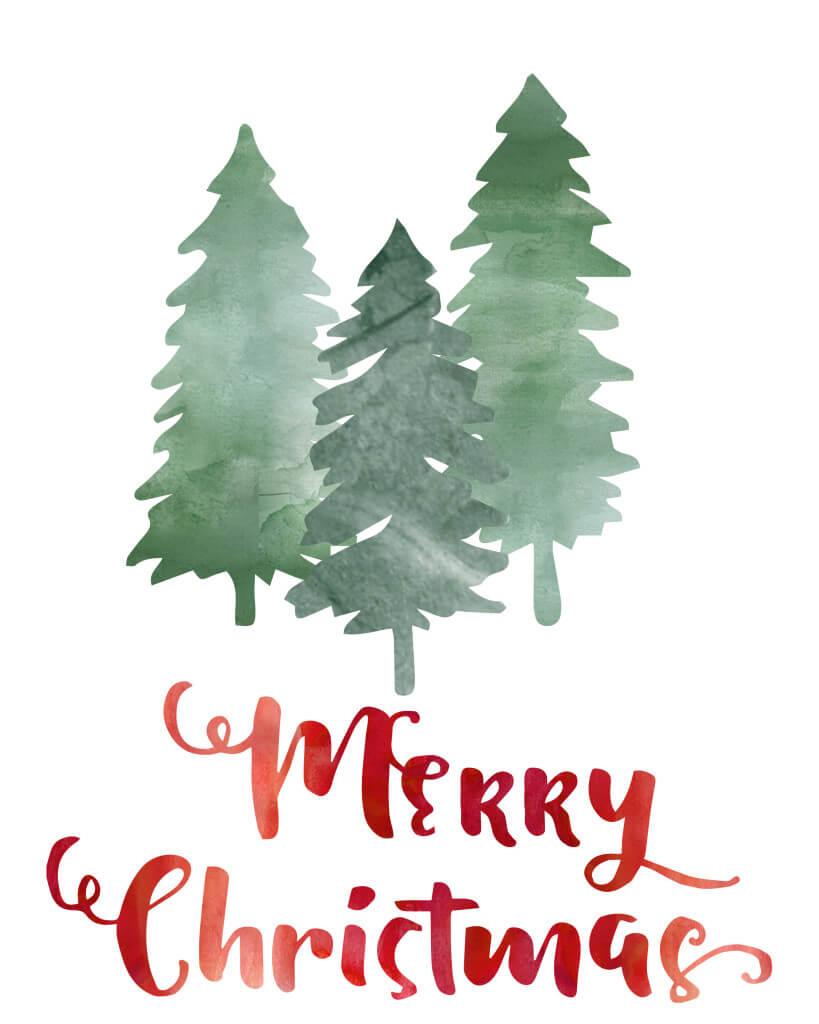 domestic heart merry christmas printable