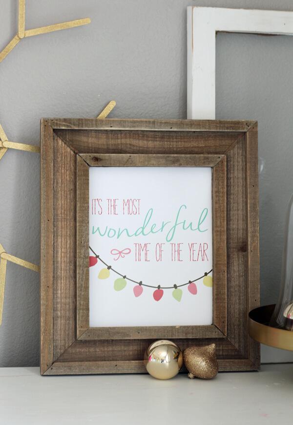 making home base christmas printable