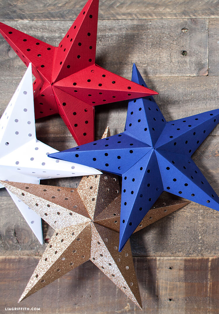 lia griffith paper star garland