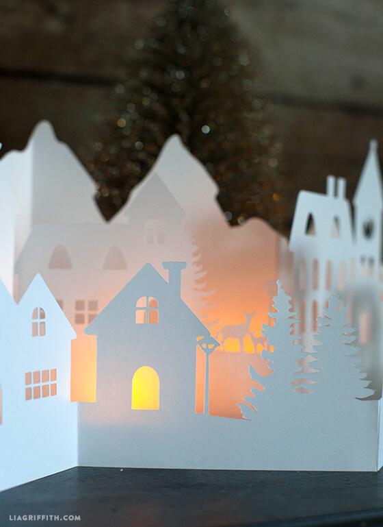 lia griffith paper cut village