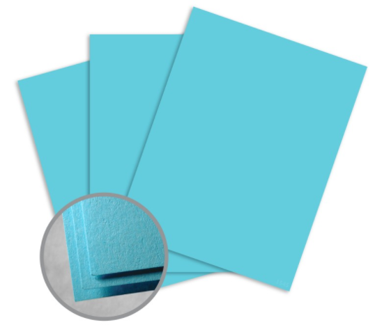 astrobrights lunar blue paper