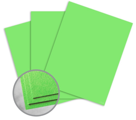 astrobrights martian green paper
