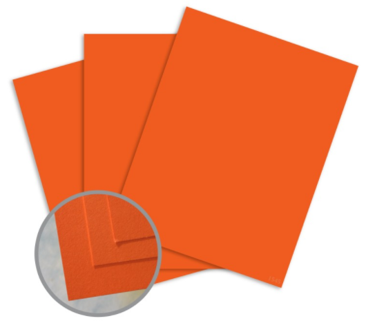 britehue orange paper