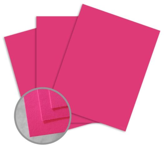 britehue ultra fuchsia card stock