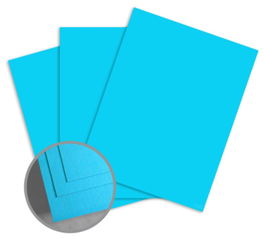 colormates blue card stock