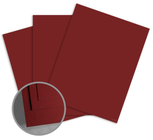 colormates maroon card stock