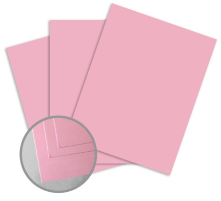 colormates medium pink card stock
