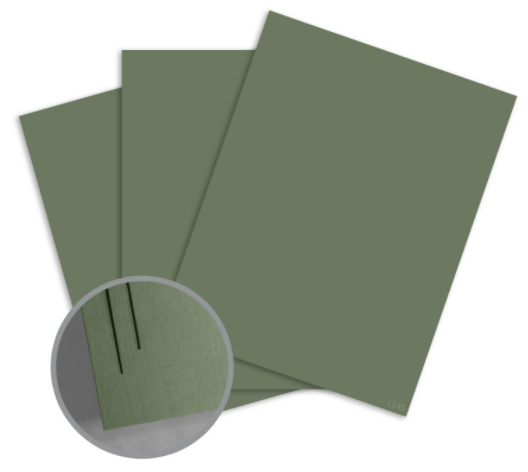 colormates military green card stock