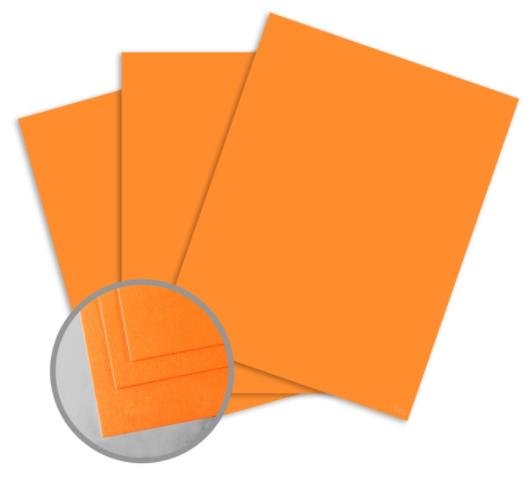 colormates orange card stock