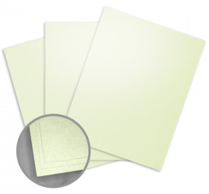 loop  linen citrus green card stock