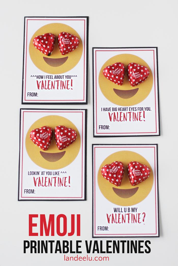 printable valentines card emoji landeelu