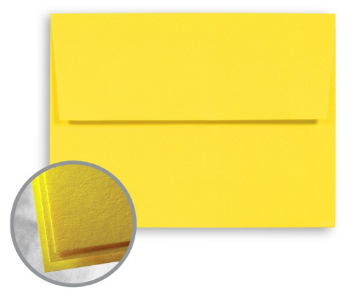 solar yellow envelopes astrobrights