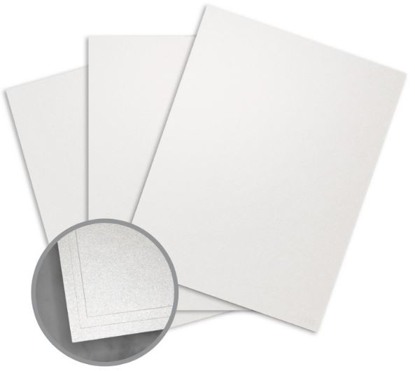 ASPIRE Petallics Beargrass Digital Card Stock - 18 x 12 in 98 lb Cover Metallic C/2S 30% Recycled 125 per Package