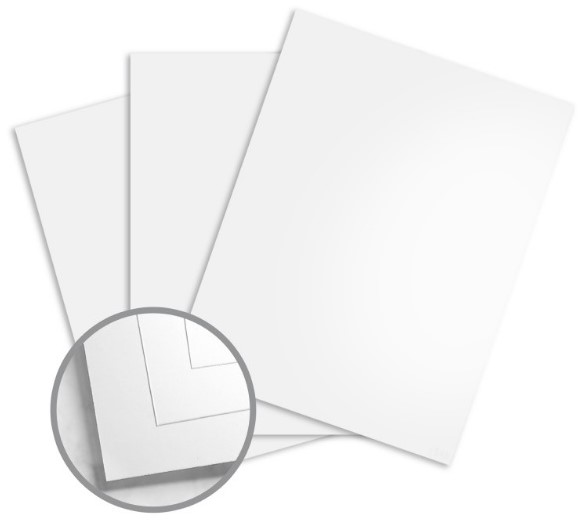 Color Copy 98 Bright White Card Stock - 8 1/2 x 11 in 110 lb Cover 250 per Package