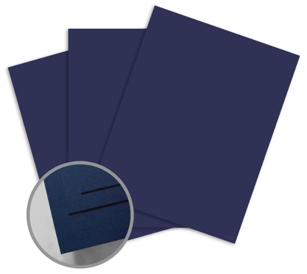 ColorMates Smooth & Silky Cobalt Blue Card Stock - 12 x 12 in 90 lb Cover Smooth 25 per Package