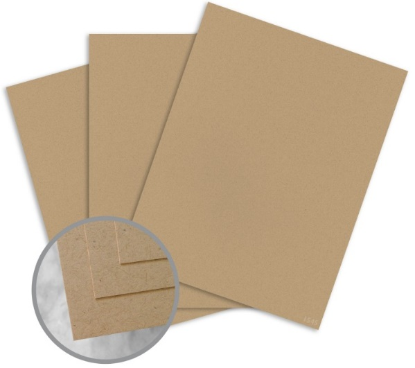 ENVIRONMENT Desert Storm Card Stock - 8 1/2 x 11 in 80 lb Cover Smooth 30% Recycled 250 per Package