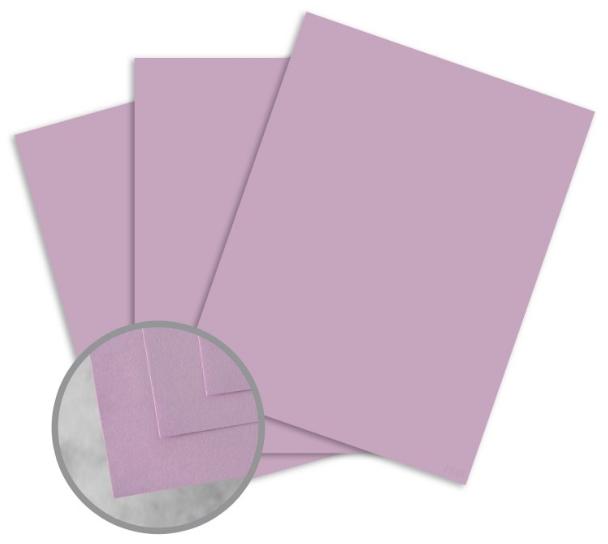 Exact Vellum Bristol Orchid Paper - 8 1/2 x 11 in 67 lb Bristol Vellum 250 per Package