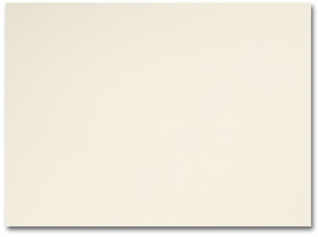 Fine Impressions Ecru Flat Cards - A7 (5 1/8 x 7) 80 lb Cover Vellum - 250 per Box