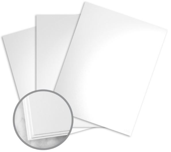 Kromekote White Paper - 11 x 17 in 8 pt Cover Glossy C/1S 200 per Package