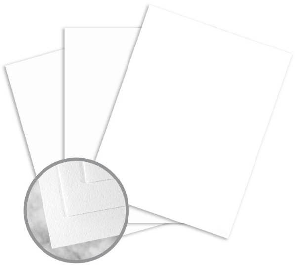Strathmore Writing Ultimate White Paper - 8 1/2 x 11 in 110 lb Bristol Wove 125 per Package