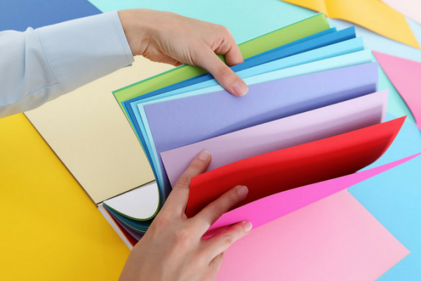 7 awesome back to school paper crafts the paper blog for Craft paper card stock
