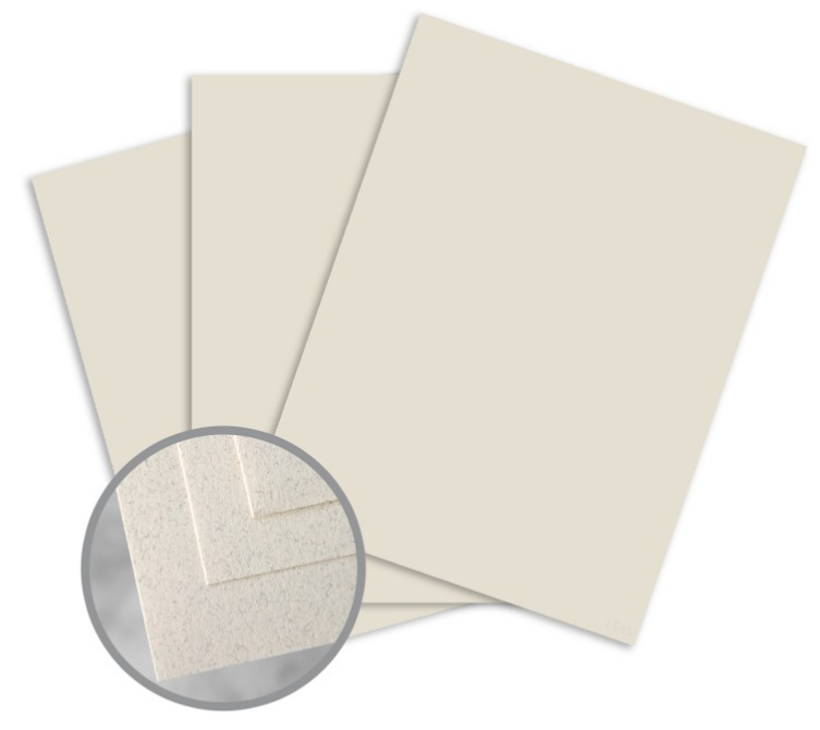 Via Smooth Natural Fiber Paper - 8 1/2 x 11 in 70 lb Text Smooth 30% Recycled 500 per Ream