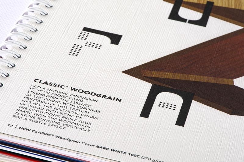neenah papers woodgrain