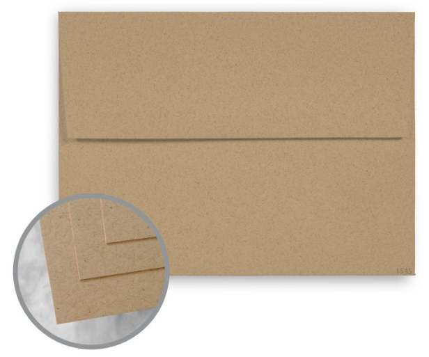 ENVIRONMENT Desert Storm Envelopes - A7 (5 1/4 x 7 1/4) 80 lb Text Smooth 30% Recycled 250 per Box