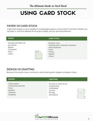 free printable download ultimate guide card stock cardstock cover how when use graphic design crafting basis weight sheet size paper finish
