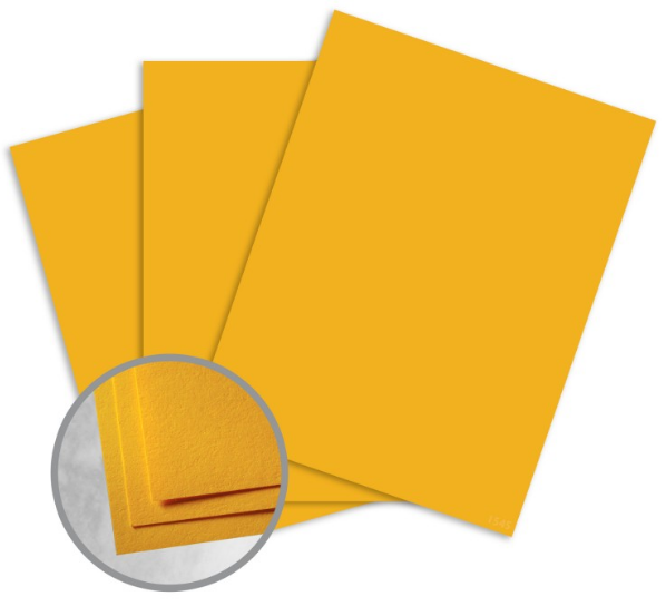 Astrobrights Galaxy Gold Card Stock - 8 1/2 x 11 in 65 lb Cover Smooth 30% Recycled 250 per Package