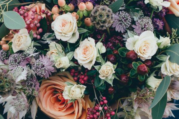 autumn wedding guide colors palette