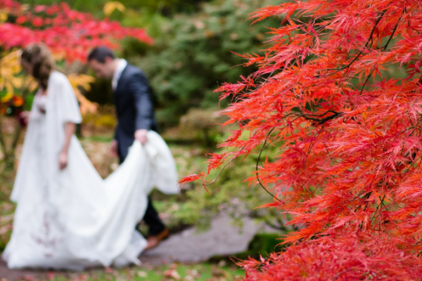 autumn wedding guide themes fall harvest foliage woodlands halloween