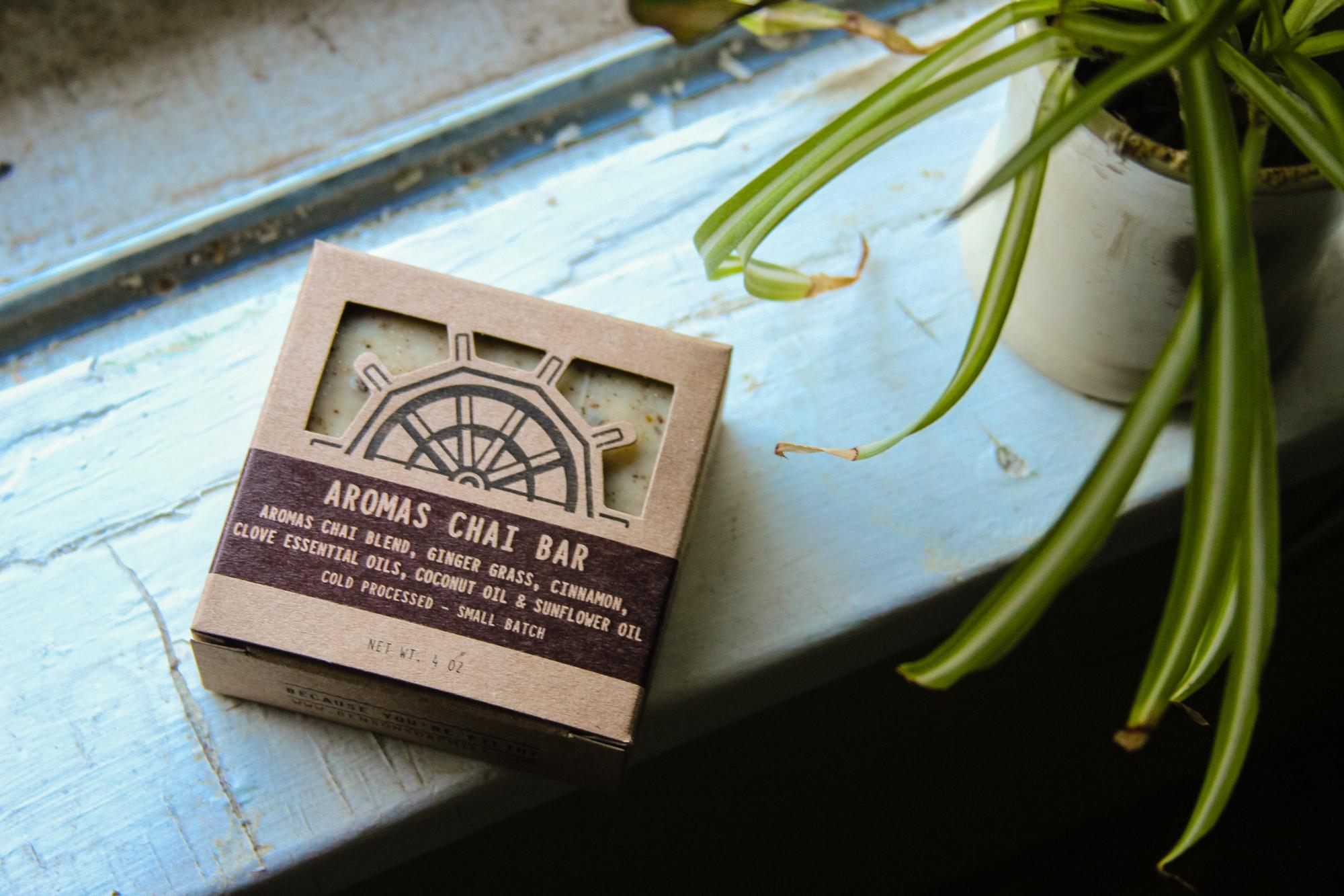 graphic design spotlight benson soap mill