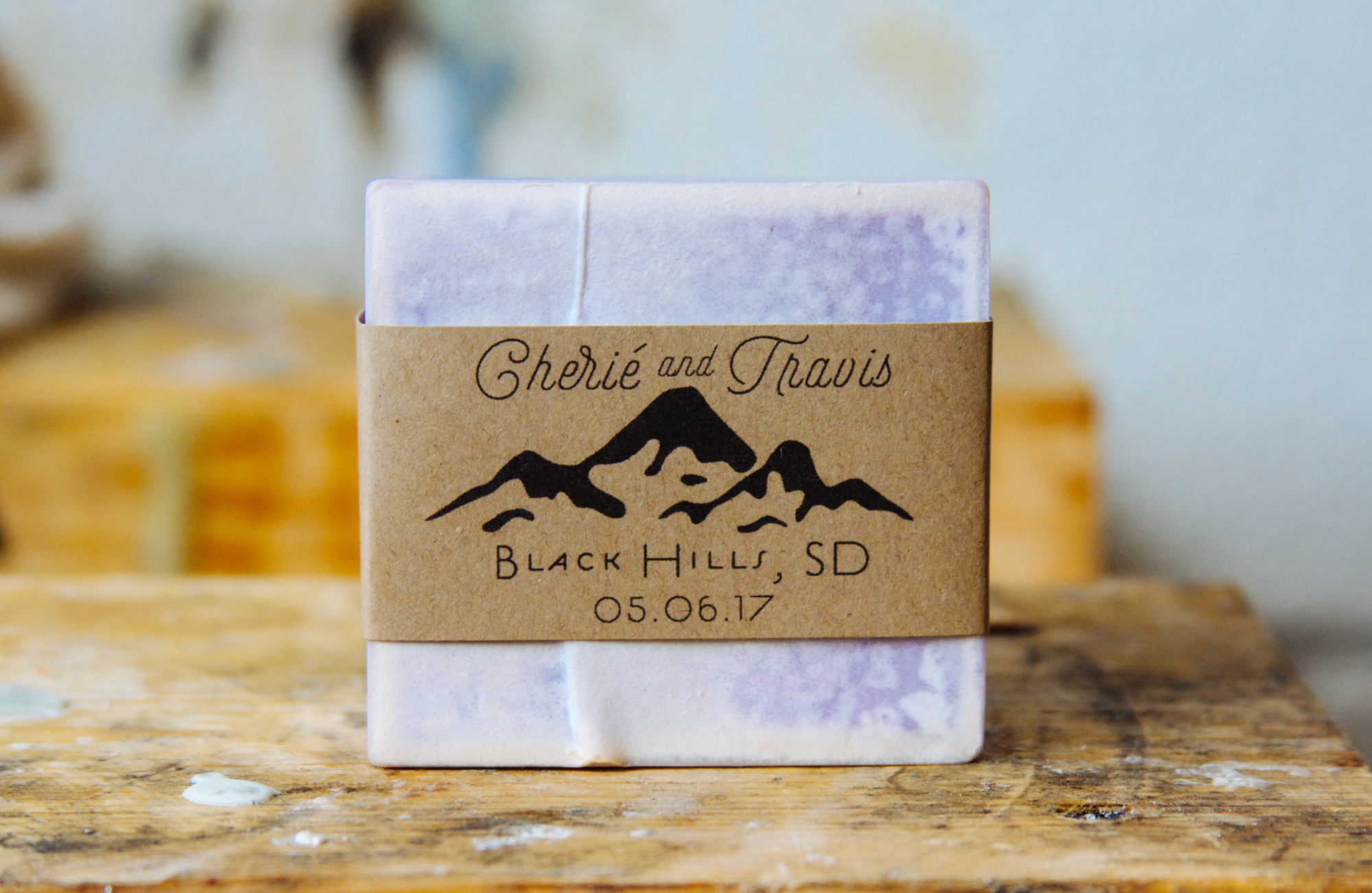 graphic design spotlight benson soap mill custom bar