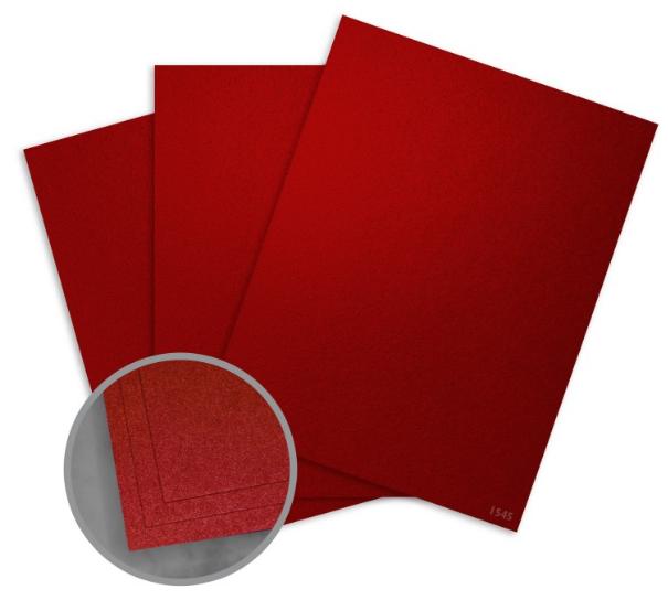 Elan Metallics Lava Card Stock - 8 1/2 x 11 in 111 lb Cover Metallic C/2S 25 per Package