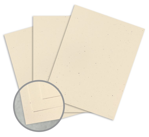 Royal Sundance Balsa Card Stock - 8 1/2 x 11 in 80 lb Cover Smooth Fiber 30% Recycled 250 per Package