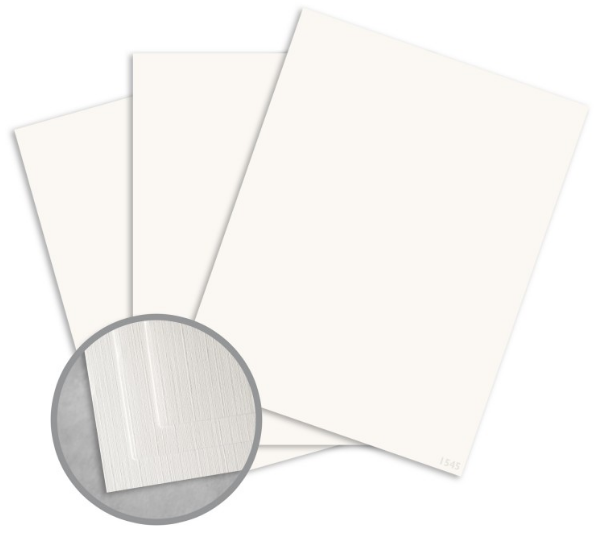 Royal Sundance White Paper - 8 1/2 x 11 in 24 lb Writing Linen 30% Recycled Watermarked 500 per Ream
