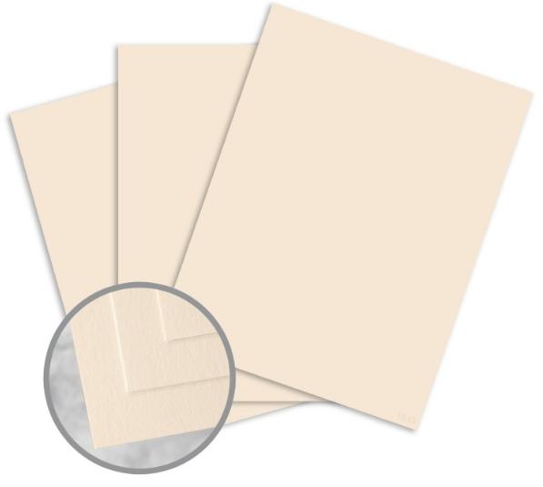 Via Vellum Cream White Paper - 8 1/2 x 11 in 24 lb Writing Vellum 30% Recycled 500 per Ream