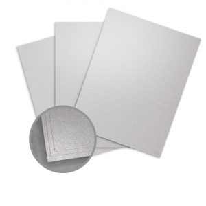 ASPIRE Petallics Silver Ore Paper - 8 1/2 x 11 in 80 lb Text Metallic C/2S 350 per Package