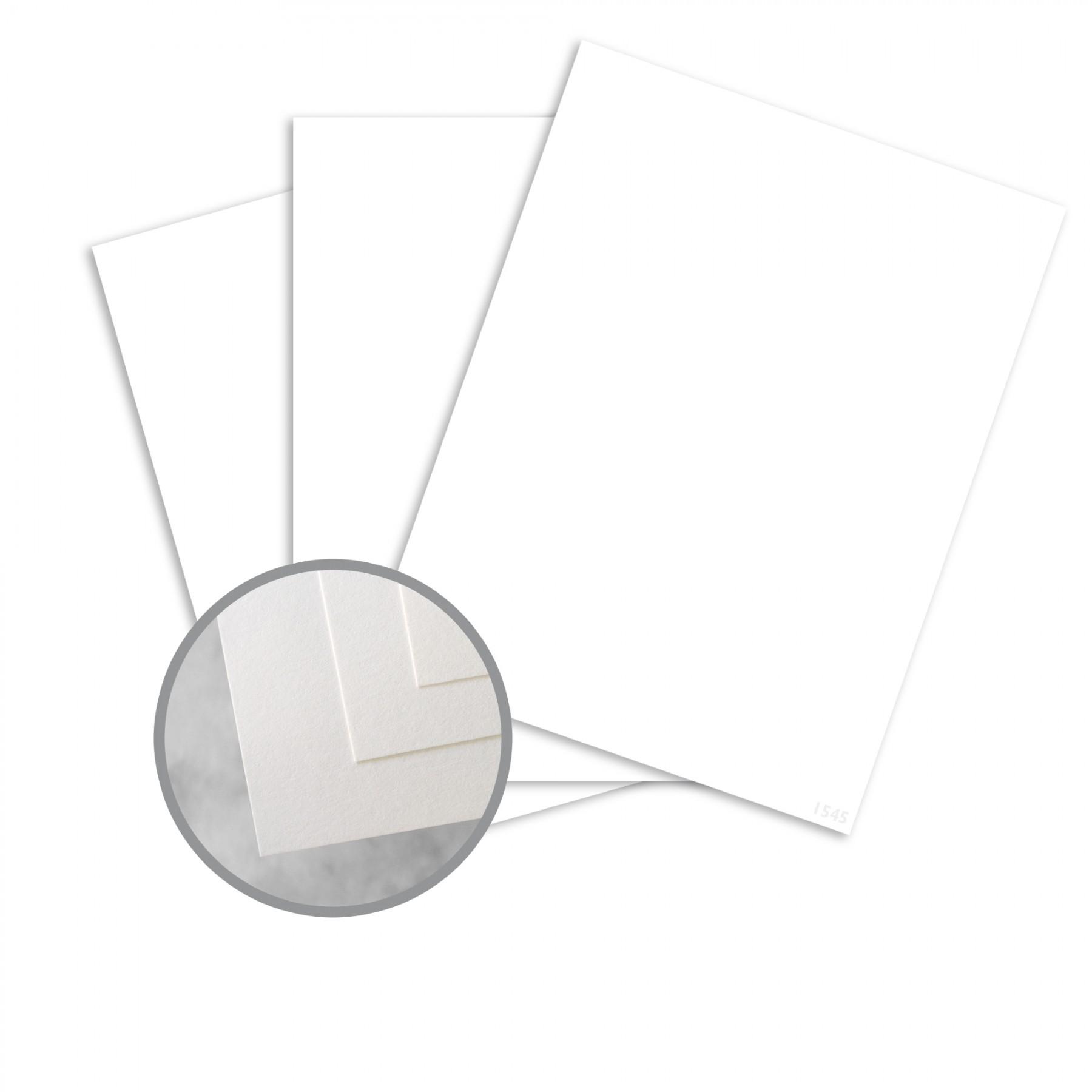 Exact Vellum Bristol White Paper - 8 1/2 x 11 in 67 lb Bristol Vellum 250 per Package