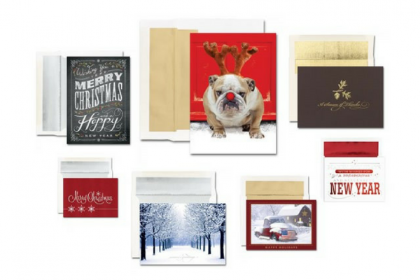18 holiday cards people with no spare time christmas thanksgiving